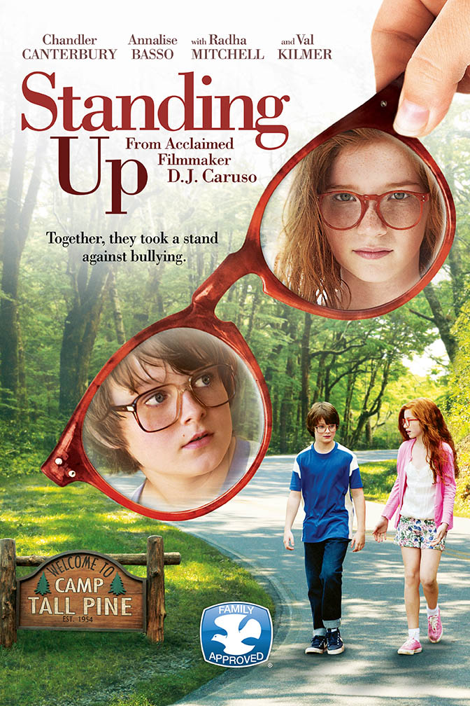 Standing Up will be screened at 5:00 pm on Friday and at 1:30 pm on